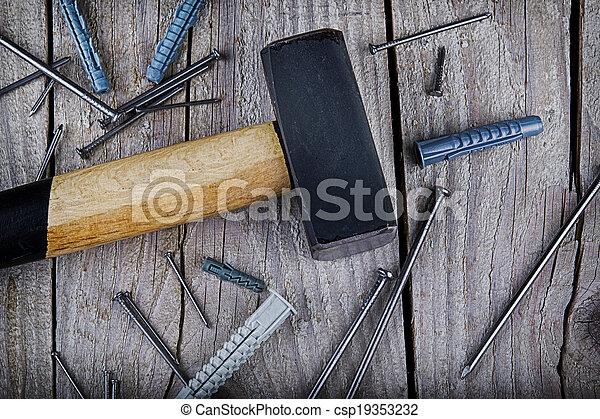Construction tools - csp19353232