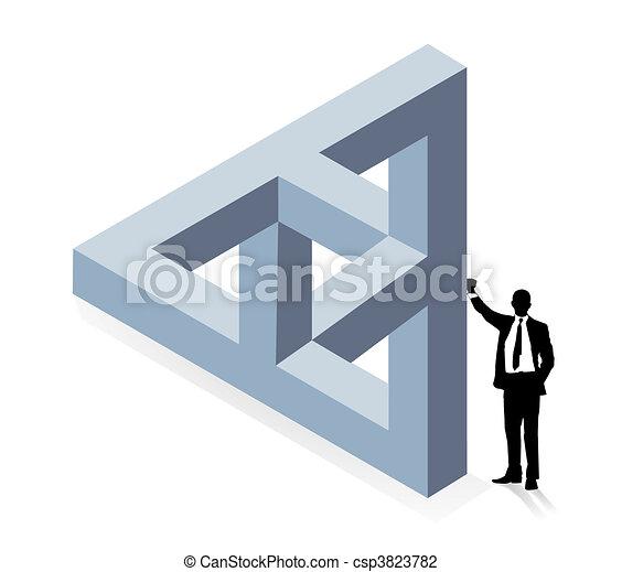 construction, tridimensionnel - csp3823782