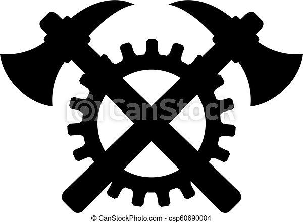construction, vecteur, vieux, signe - csp60690004