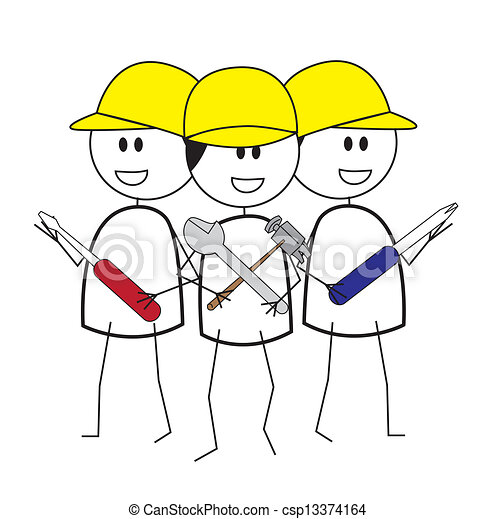 construction worker - csp13374164