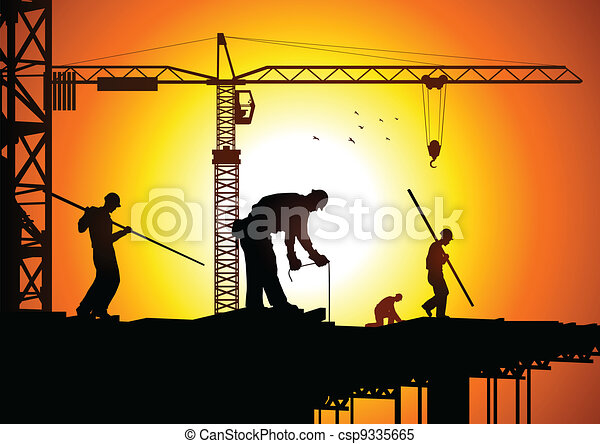 Construction Worker - csp9335665