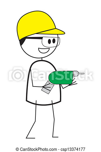 construction worker - csp13374177