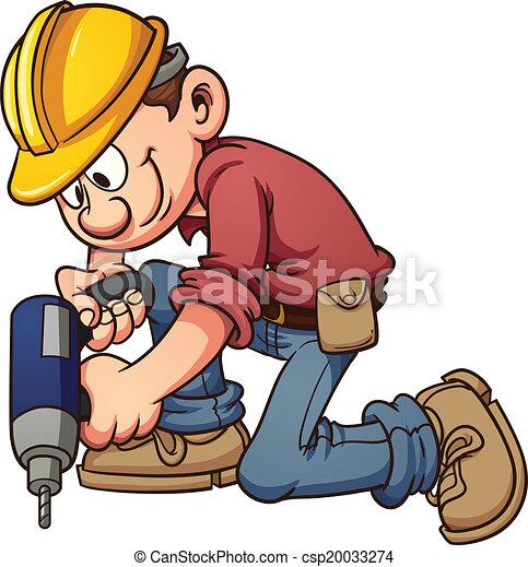 Construction worker - csp20033274