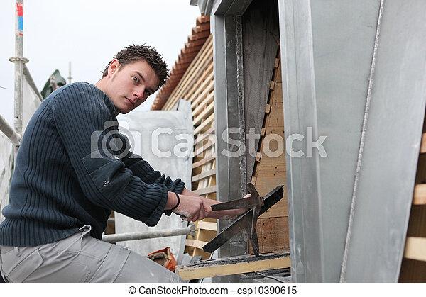 Construction worker - csp10390615