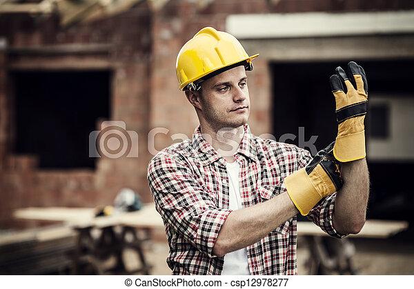 Construction Worker - csp12978277