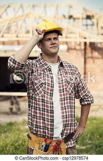 Construction worker - csp12978574