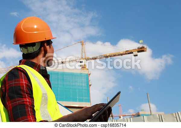 construction worker - csp16835714
