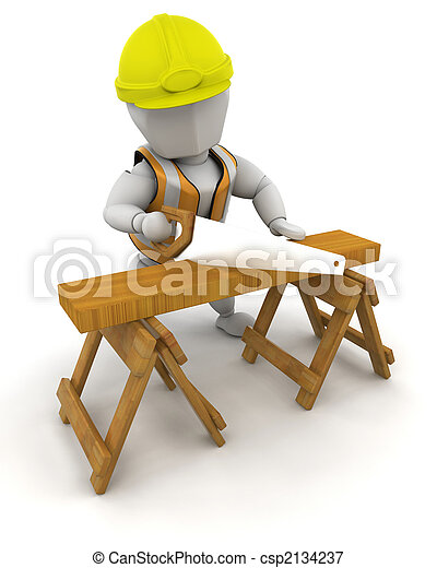 Construction Worker - csp2134237