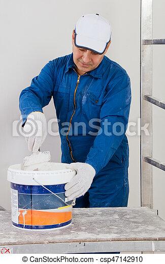 Construction worker - csp47142910