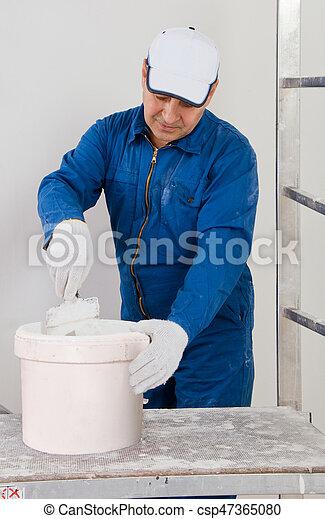 Construction worker - csp47365080