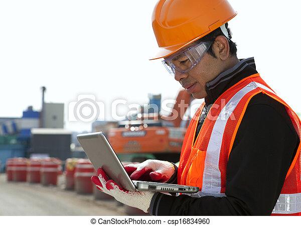 Construction worker - csp16834960