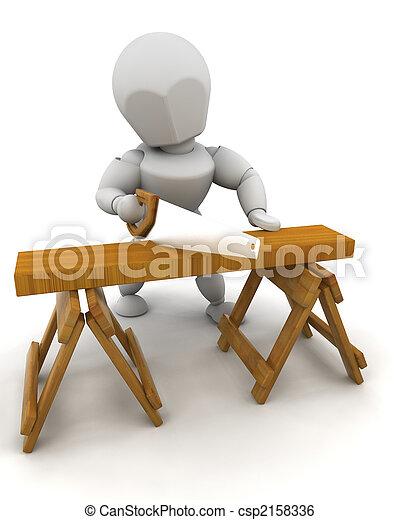 Construction Worker - csp2158336