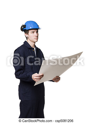 Construction worker - csp5081206