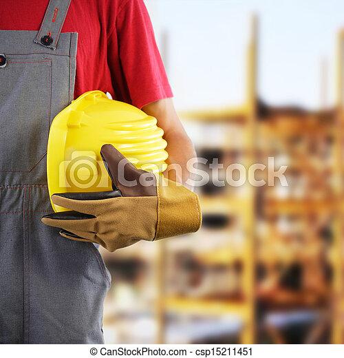 Construction worker - csp15211451