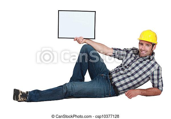 Construction worker - csp10377128
