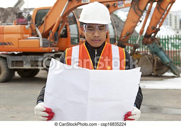 Construction worker - csp16835224