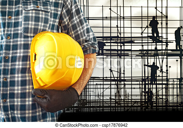 Construction worker - csp17876942