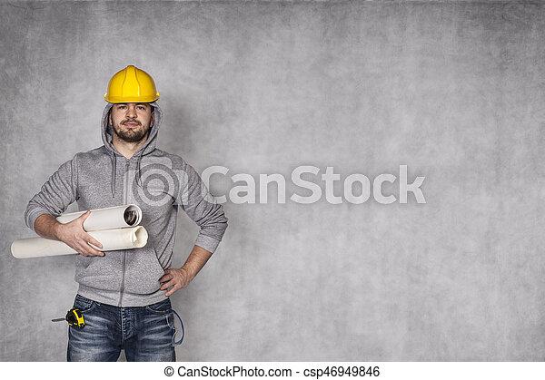 construction worker - csp46949846