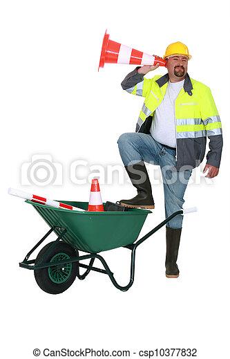 construction worker - csp10377832