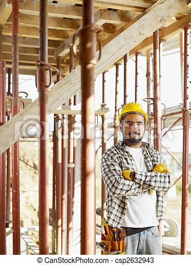 Construction worker - csp2632943