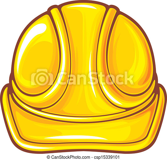 construction workers hard hat - csp15339101