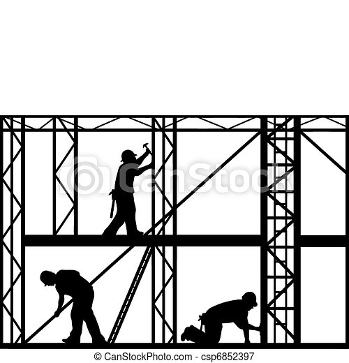 Construction Workers  - csp6852397