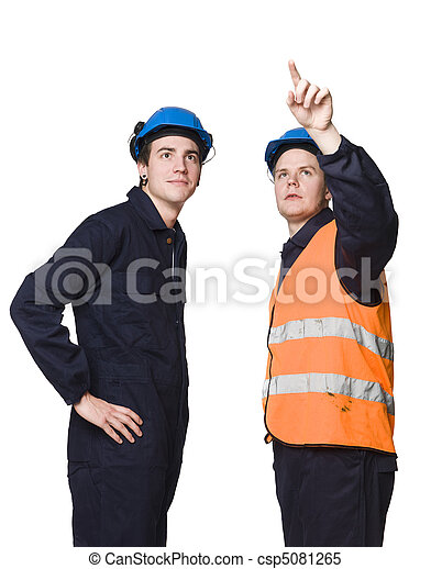Construction workers - csp5081265