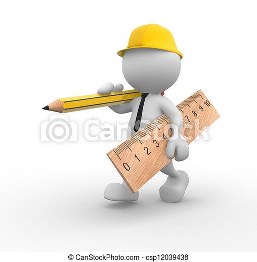 Construcción - csp12039438