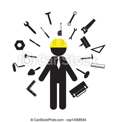 Construcción y herramientas - csp14568594