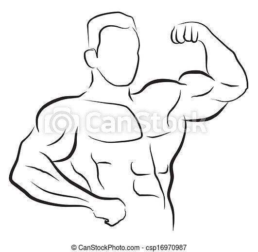 El símbolo del constructor de cuerpos - csp16970987