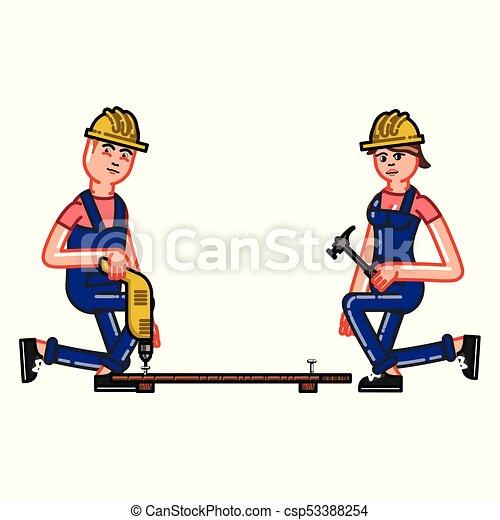 El constructor funciona con un taladro - csp53388254