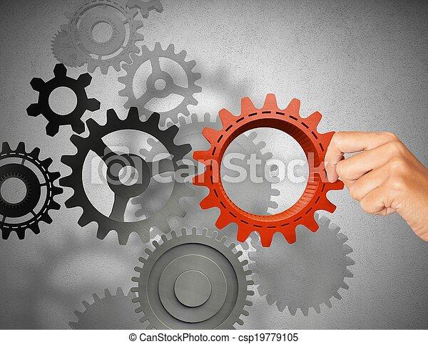 Construir un sistema de negocios - csp19779105