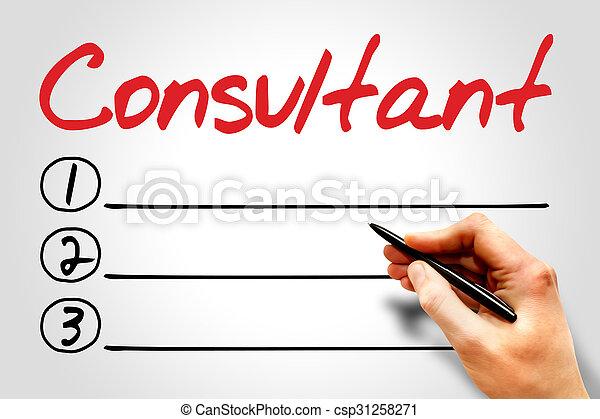 Consultant - csp31258271