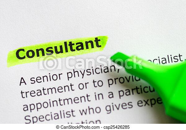 consultant - csp25426285