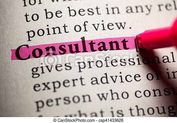consultant - csp41433626