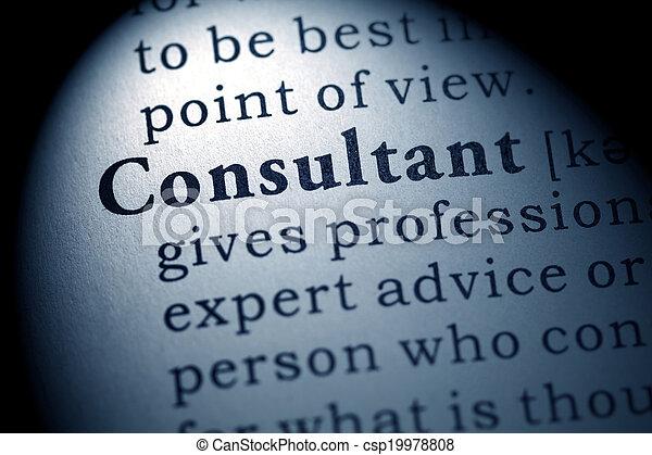 consultant - csp19978808