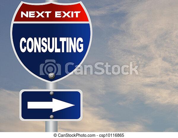 consultar, sinal estrada - csp10116865