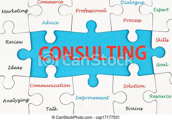 Consulting concept - csp17177031