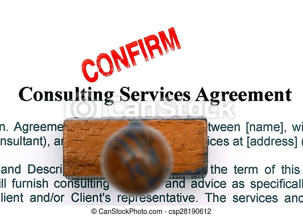 Consulting Service Agreement Stock Photography  Search Pictures And