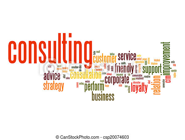 Consulting word cloud - csp20074603