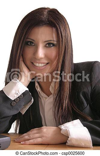 Asesor sonriente - csp0025600