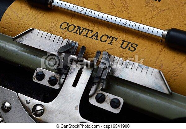 Contacta con nosotros - csp16341900