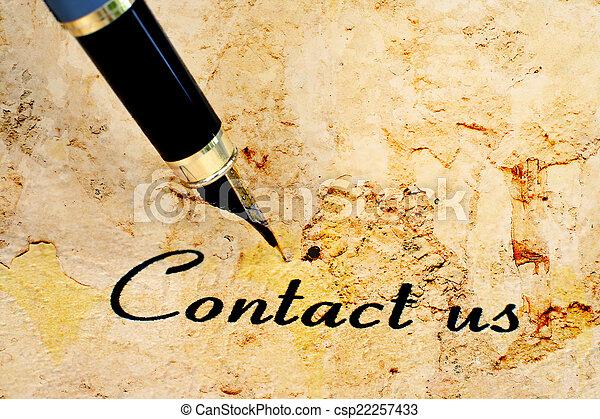 Contáctanos - csp22257433