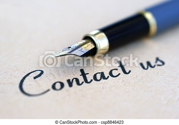 Contacta con nosotros - csp8846423