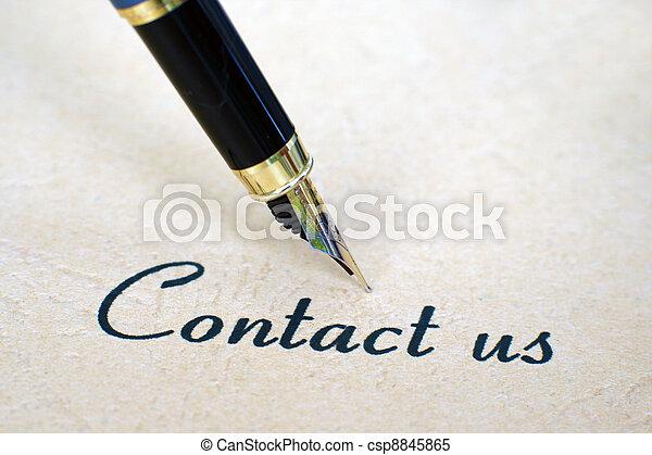 Contacta con nosotros - csp8845865