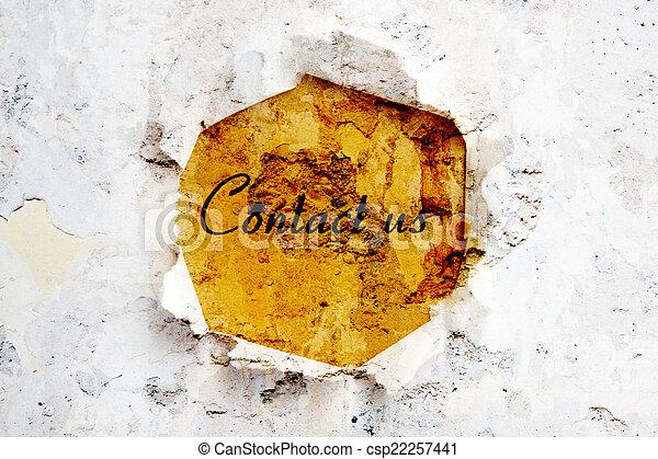 Contáctanos - csp22257441