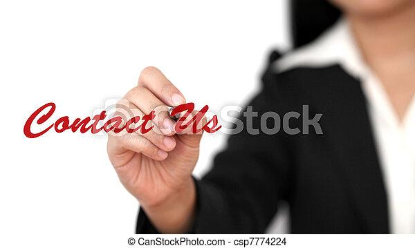 Contacta con nosotros - csp7774224