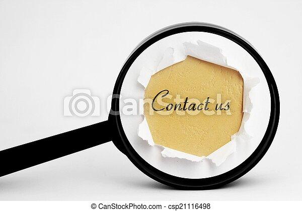 Contáctanos - csp21116498