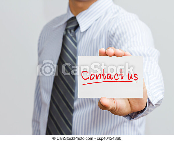 Contáctanos - csp40424368