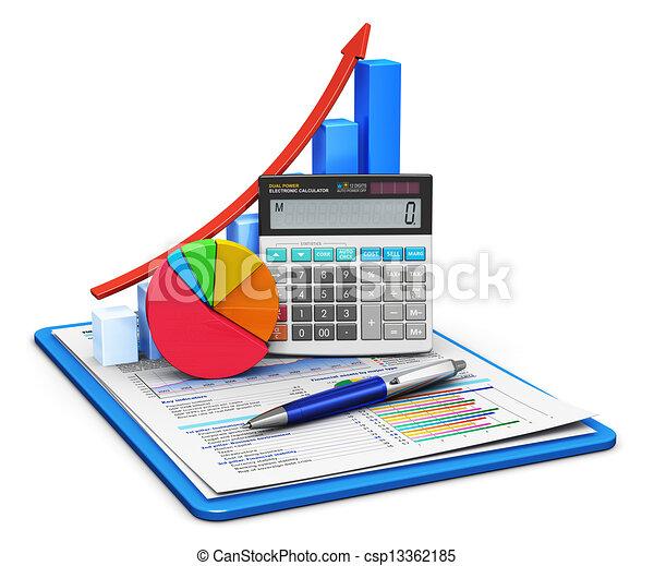 Finanzas y concepto de contabilidad - csp13362185
